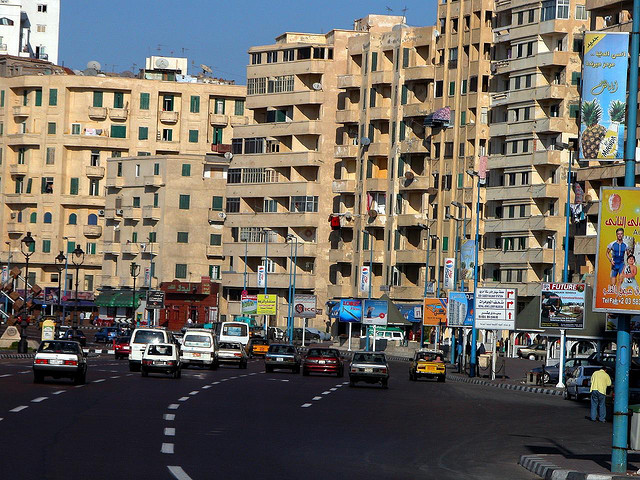 Traffic in Alexandria