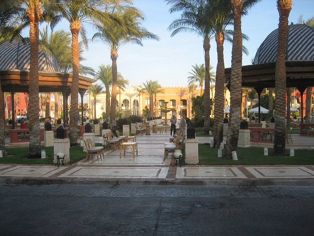 Front of Grand Resort Hotel in Hurghada