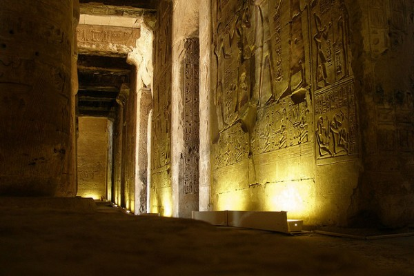 Interiors of Abydos temple, ©Argenberg/Flickr
