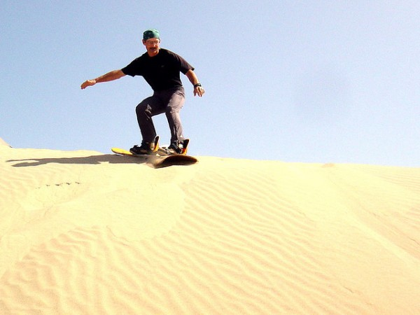 Sand boarding, ©Rick McCharles/Flickr