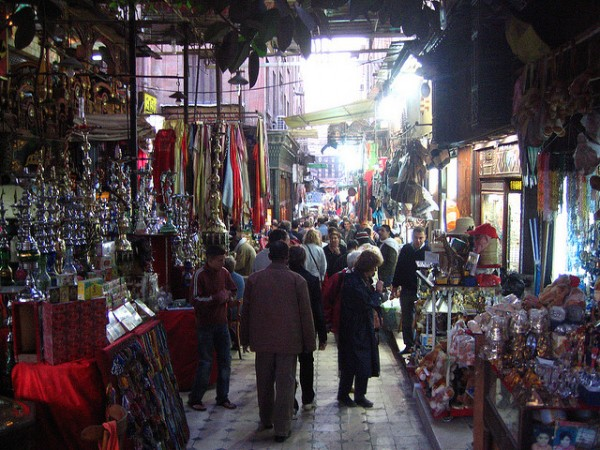 Khan El Khalili Market in Cairo, ©vipeldo/Flickr