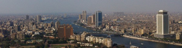 Cairo from Above, ©gr33ndata/Flickr