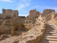 The Temple of the Oracle at the Siwa Oasis